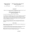 Nghị quyết 13/2013/NQ-HĐND