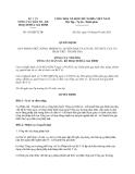 Quyết định 101/QĐ-TCDS năm 2013 quy định chức năng, nhiệm vụ, quyền hạn và cơ cấu tổ chức của Vụ Pháp chế - Thanh tra do Tổng cục Dân số - Kế hoạch hóa gia đình ban hành