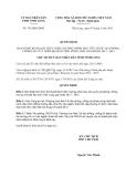 Quyết định 745/QĐ-UBND năm 2013