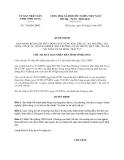 Quyết định 710/QĐ-UBND năm 2013