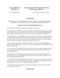 Quyết định 927/QĐ-UBND năm 2013