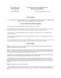 Quyết định số 900/QĐ-UBND năm 2013