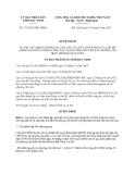 Quyết định 175/2013/QĐ-UBND