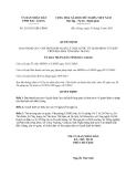 Quyết định 219/2013/QĐ-UBND