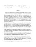 Chỉ thị 1497/CT-BNN-PC năm 2013