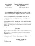 Quyết định 29/2013/QĐ-UBND