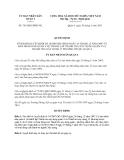 Quyết định 763/QĐ-UBND-NC năm 2013