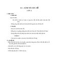 Giáo án Đạo đức 3 bài 1: Kính yêu bác Hồ