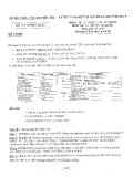 Đề thi tốt nghiệp Tin học ứng dụng trình độ B khóa 81 năm 2008 - Sở GD&ĐT Phú Yên (Lý thuyết Access)