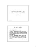 Bài giảng Mô hình tài chính - Chương 4: Mô phỏng Monta Carlo
