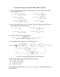 Bài tập điều kiện lý thuyết điều khiển tự động