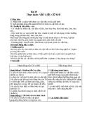 Giáo án Công nghệ 8 bài 19: Thực hành - Vật liệu cơ khí