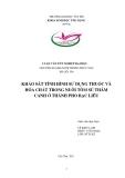 Tiểu luận nuôi trồng thủy sản: Khảo sát tình hình sử dụng thuốc và hóa chất trong nuôi tôm sú thâm canh ở thành phố Bạc Liêu