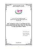 Luận văn nuôi trồng thủy sản: Thử nghiệm ương cá rô phi đỏ giai đoạn bột lên hương với các mật độ và độ mặn khác nhau