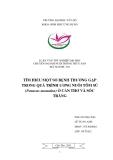 Tiểu luận nuôi trồng thủy sản: Tìm hiểu một số bệnh thường gặp trong quá trình ương nuôi tôm sú (penaeus monodon) ở Cần Thơ và Sóc Trăng