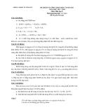 Đề thi học sinh giỏi môn Hóa học lớp 8 - Đề 15