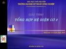 Giáo trình Tổng hợp hệ điện cơ 2 - TS. Trần Xuân Minh