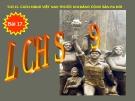 Bài giảng Lịch sử 9 bài 17:  Cách mạng Việt Nam trước khi Đảng Cộng sản ra đời