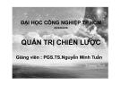 Bài giảng Quản trị chiến lược - PGS. TS. Nguyễn Minh Tuấn