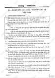 Giải bài tập Vật lý lớp 7 - Chương 1 - Quang học