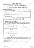 Giải bài tập Toán 8 - Chương 2 - Tam giác đồng dạng