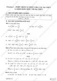 Giải bài tập Toán 8 - Chương 1 - Phép nhân và chia các đa thức