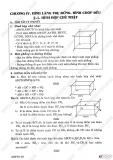 Giải bài tập Toán 8 - Chương 4 - Hình lăng trụ đứng, hình chóp đều