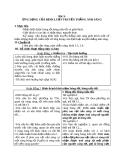 Giáo án Vật lý 7 bài 3: Ứng dụng của định luật truyền thẳng ánh sáng