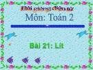 Bài giảng Lít - Toán 2 - GV.Lê Văn Hải