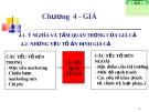 Bài giảng Marketing căn bản (ThS. Phạm Thị Ngọc Hương) - Chương 4: Giá