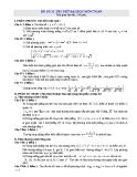 Đề thi thử Đại học môn Toán - Đề 31, 32