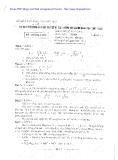 Đề thi tuyển sinh lớp 10 năm 2002 đến 2004 - Trường THPT chuyên Lương Văn Chánh
