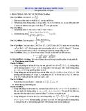 Đề thi thử Đại học môn Toán - Đề 39, 40
