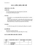 Giáo án Địa lý 4 bài 12: Đồng bằng Bắc Bộ