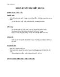 Giáo án Địa lý 4 bài 27: Dải đồng bằng duyên hải miền Trung