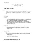 Giáo án Địa lý 4 bài 3: Một số dân tộc ở Hoàng Liên Sơn