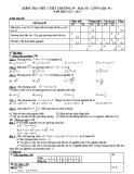 Đề kiểm tra 1 tiết Đại số lớp 9 năm 2013 - Chương 4 (tiết 59)