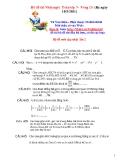 Bộ đề thi Violympic Toán lớp 7 năm 2011 - Vòng 15
