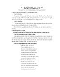 Đề thi thử Đại học môn Văn khối C năm 2014 - Đề số 1