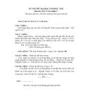 Đề thi thử Đại học môn Văn khối C năm 2014 - Đề 14