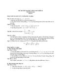Đề thi thử Đại học môn Toán khối B năm 2014 - Đề số 2