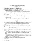 Đề thi thử Đại học môn Toán khối B năm 2014 - Đề số 1