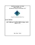 Giáo trình Kỹ thuật nuôi thủy đặc sản - Nguyễn Văn Kiểm, Bùi Minh Tâm