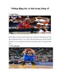 Những động tác cơ bản trong bóng rổ