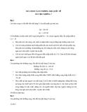 Bài tập chương 7: Mô hình chính sách thương mại quốc tế