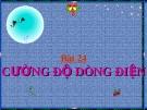 Slide bài Cường độ dòng điện - Vật lý 7 - N.T.Tuyên