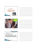 Bài giảng Thống kê kinh doanh (Ths.Nguyễn Thị Ngọc Hoa) - Chương 4: Thống kê tài sản cố định của doanh nghiệp