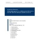Tìm hiểu bài viết khoa học: Tính minh bạch của chính sách tiền tệ và cơ chế truyền dẫn qua kênh lãi suất