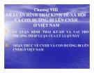 Bài giảng Lý luận hình thái kinh tế - xã hội và con đường đi lên CNXH ở Việt Nam
