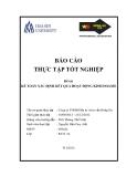Báo cáo thực tập tốt nghiệp: Kế toán xác định kết quả kinh doanh tại Công ty TNHH Đầu tư và tư vấn Đông Du